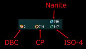 Planetside2 各種ポイント