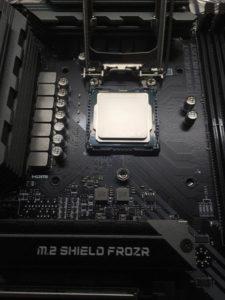 CPU取り付け(1)